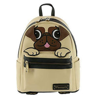 Loungefly Pug Faux Leather Mini Backpack Standard