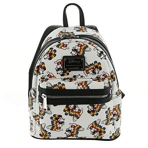 Loungefly Disney's Mickey Mouse Rainbow Mini Backpack