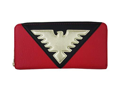 Loungefly X-Men Red Phoenix Faux Leather Zip Around Wallet Standard