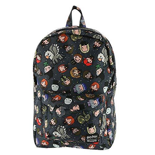 Loungefly Harry Potter Chibi Character All Over Print Backpack