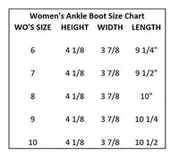 Sloggers Women's Waterproof Rain and Garden Ankle Boots with Comfort Insole, Midsummer Black, Size 6, Style 2841BK06