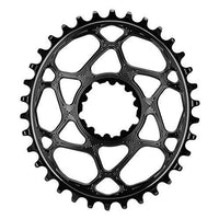 ABSOLUTE BLACK SRAM Oval Boost148 Direct Mount Traction Chainring Black/3mm Offset, 28t