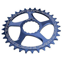 RaceFace 10/11 Speed Cinch Direct Mount Chainring, Blue, 30T