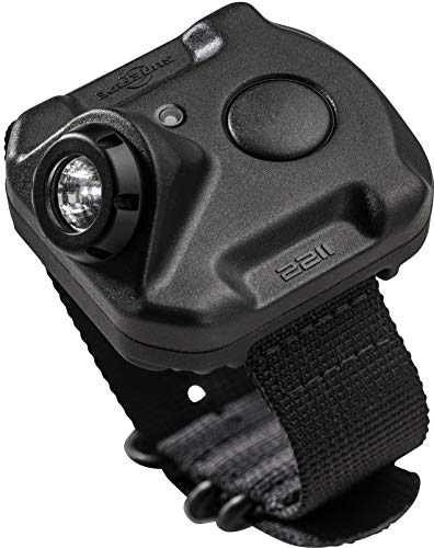 SureFire 2211 Rechargeable Variable Output WristLight, 300 Lumens, Polymer Body