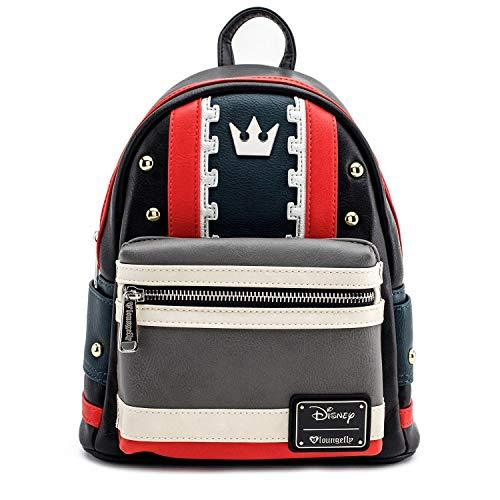Loungefly Kingdom Hearts Faux Leather Mini Backpack Standard