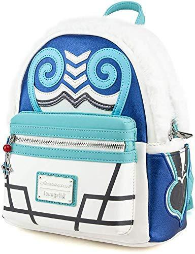 Overwatch Mei Faux Fur Cosplay Mini Backpack, White