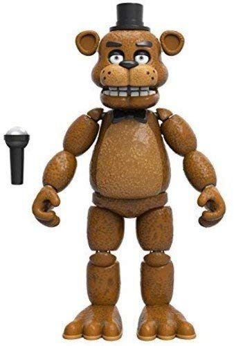 Five Nights at Freddy's Articulated Freddy Action Figure, 5""
