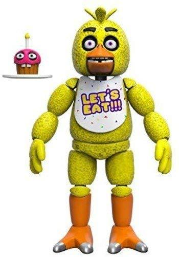 Five Nights at Freddy's Articulated Chica Action Figure, 5-inch