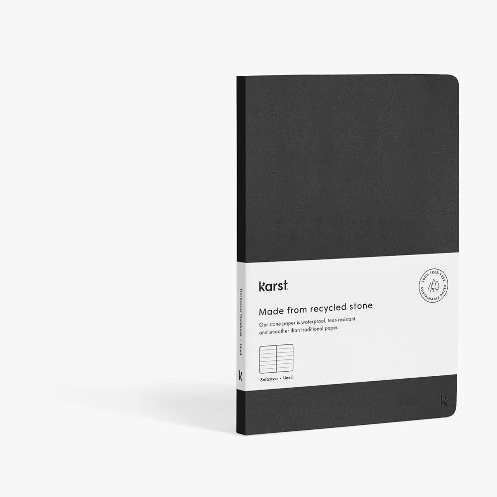 Softcover Notebook A5 - Karst Stone Paper