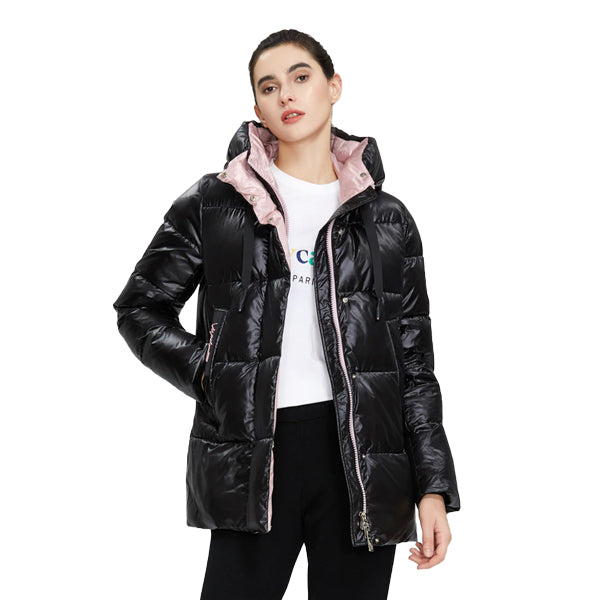 Women High Quality Hooded Fashion Jacket