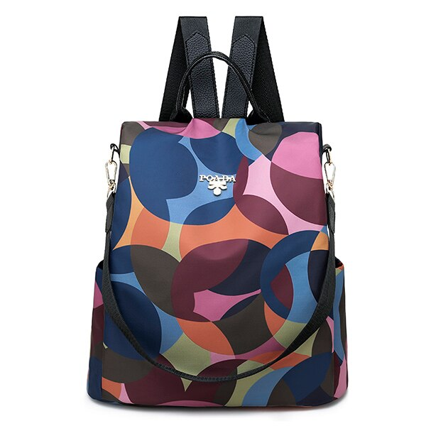 Backpack Female Korean Version Canvas Cloth