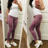 High Waist Yoga Workout Breathable Fitness Leggings For Women