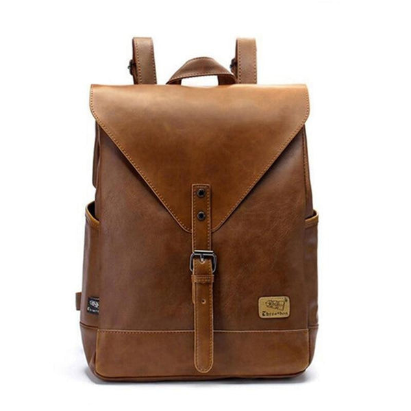 Women Leather Vintage Style Backpack