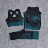 Fitness Sports Yoga Suit Seamless Women Suit