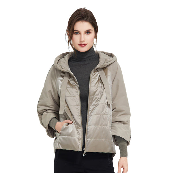 Women Trend High Quality Warm Thin Short Jacket