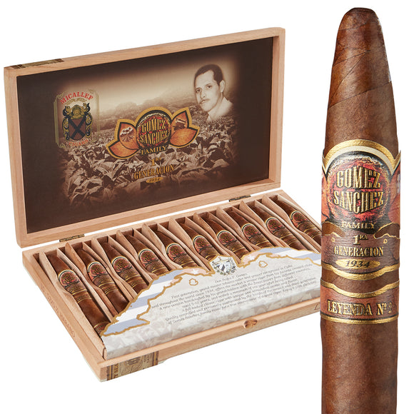 Micallef - Gomez Sanchez Leyenda No. 2 Premium BOX