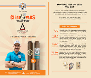 AVO / Cigar Dojo Cigar Wars - Virtual Event