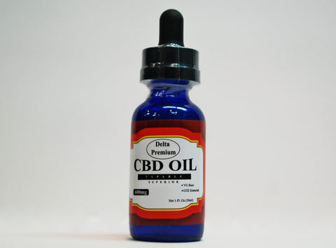 Delta Premium 600mg CBD Vape Oil Additive