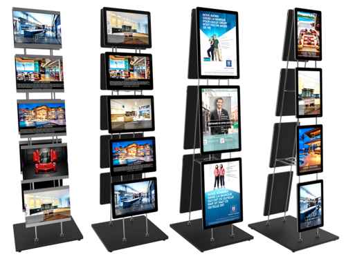 Mobile Poster Stand