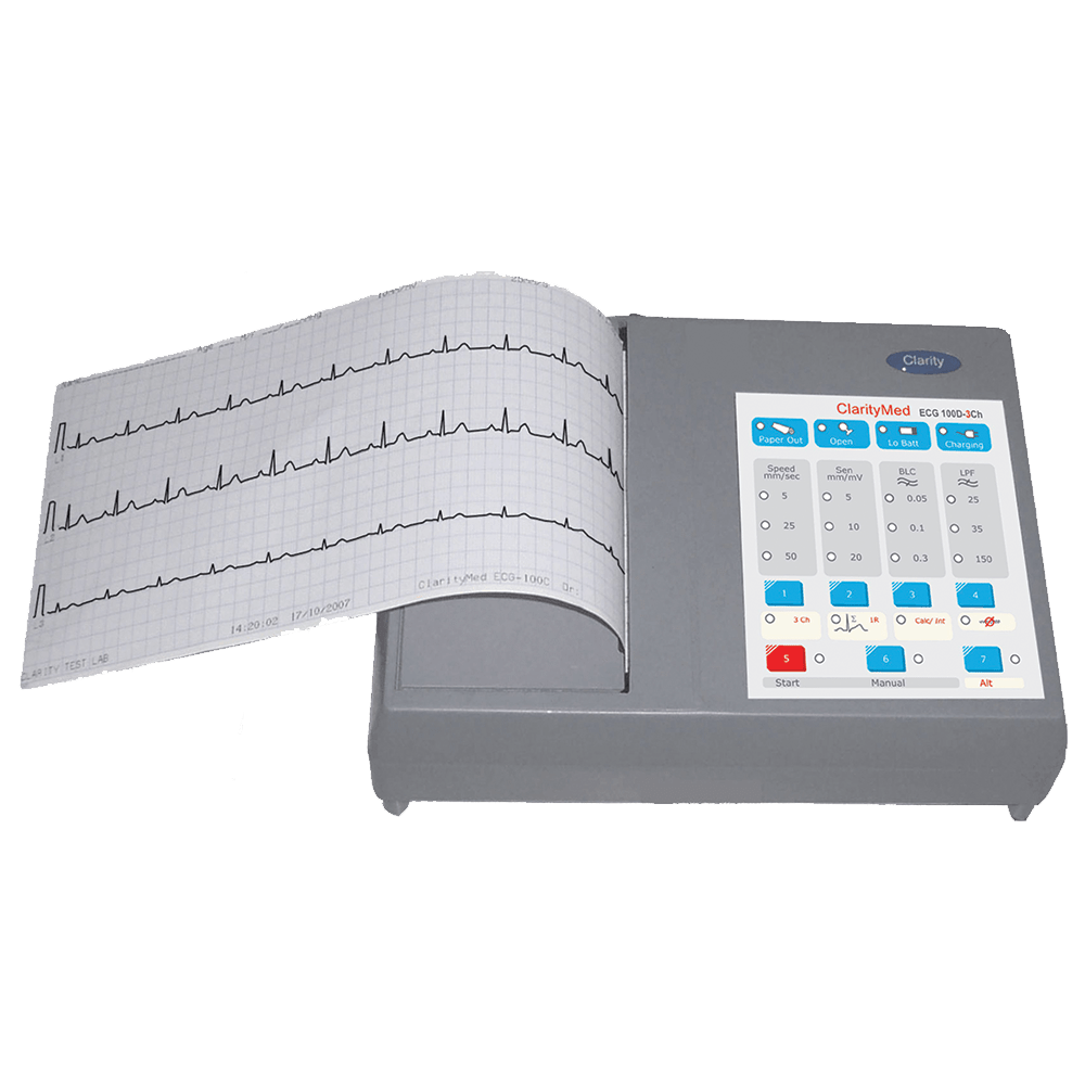 ECG 100 - Clarity Medical Pvt Ltd