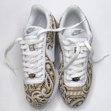 Solid White Swoosh