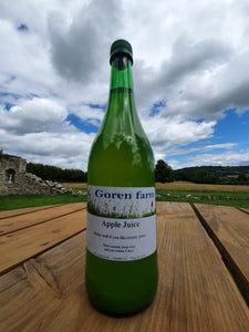 Apple Juice. 750ml. - Goren Farm Seeds