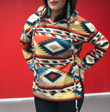 Aztec Hooded Pull-Over