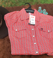 Women's Patterned Cinch® Button Up