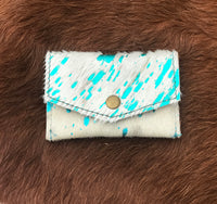 Coin/Change Cowhide Envelope