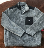 Mens Kimes Ranch Fleece Qtr Zip Pull Over
