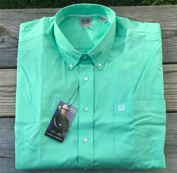 Men's Mint Cinch® Button Up