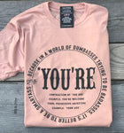 *You're Sassy Logo Tee