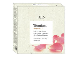 Rica Titanium Hard Wax Disques 1Kg