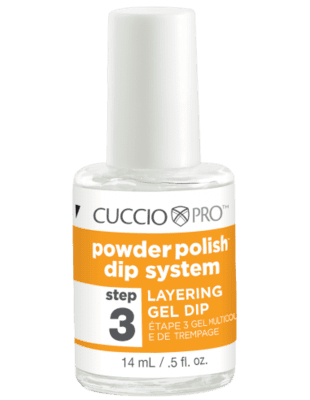 Cuccio Powder Polish Dip System - Step 3