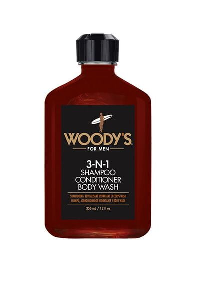 Woody's 3-N-1 Shampoo Conditioner Body Wash 946ml