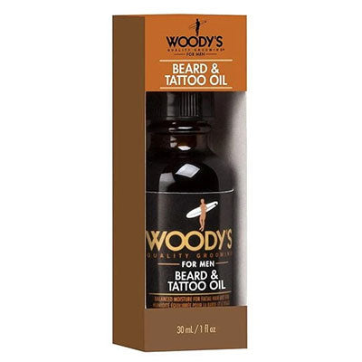 Woody's Beard & Tattoo Oil-30ml