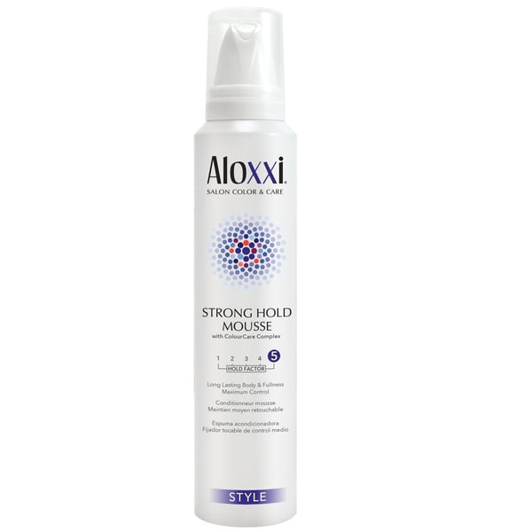 Aloxxi Strong Hold Mousse 200ml