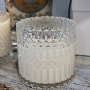 Luminology Glass Jar Candle
