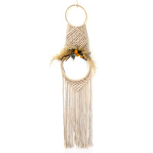 Load image into Gallery viewer, Macrame Hanging Mirror