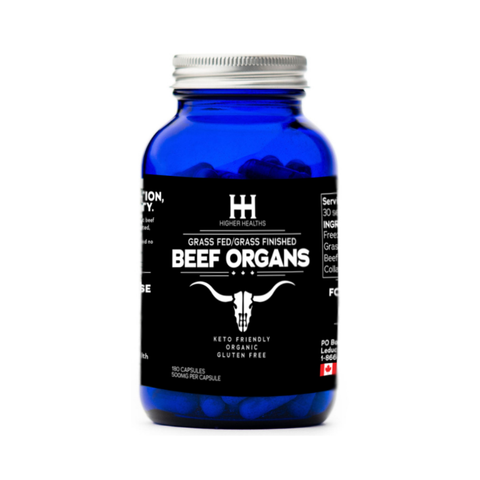 Beef Complex Capsules, Higher Healths Canada