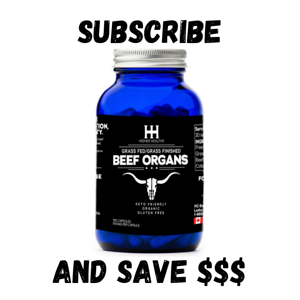 Monthly Subscription - Beef Complex, 180 Capsules, Higher Healths Canada