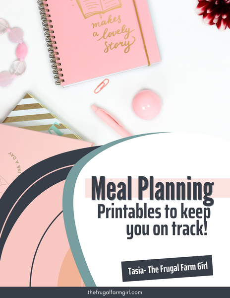 Meal Planning Printable Bundle
