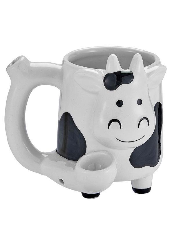 Cow Novelty Pipe Mug
