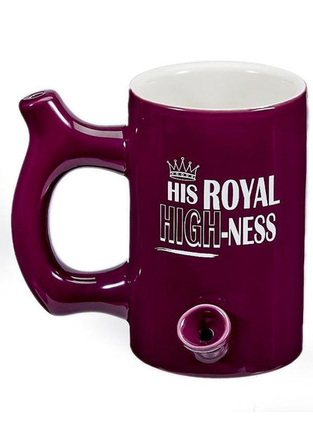 Royal High-Ness Ceramic Pipe Mug