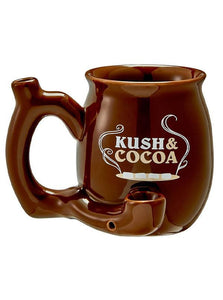 Kush & Cocoa Single Wall Pipe Mug (Brown)