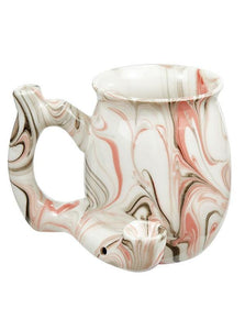 Marble Roast & Toast Ceramic Pipe Mug