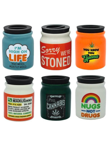 Ceramic Stash Jars