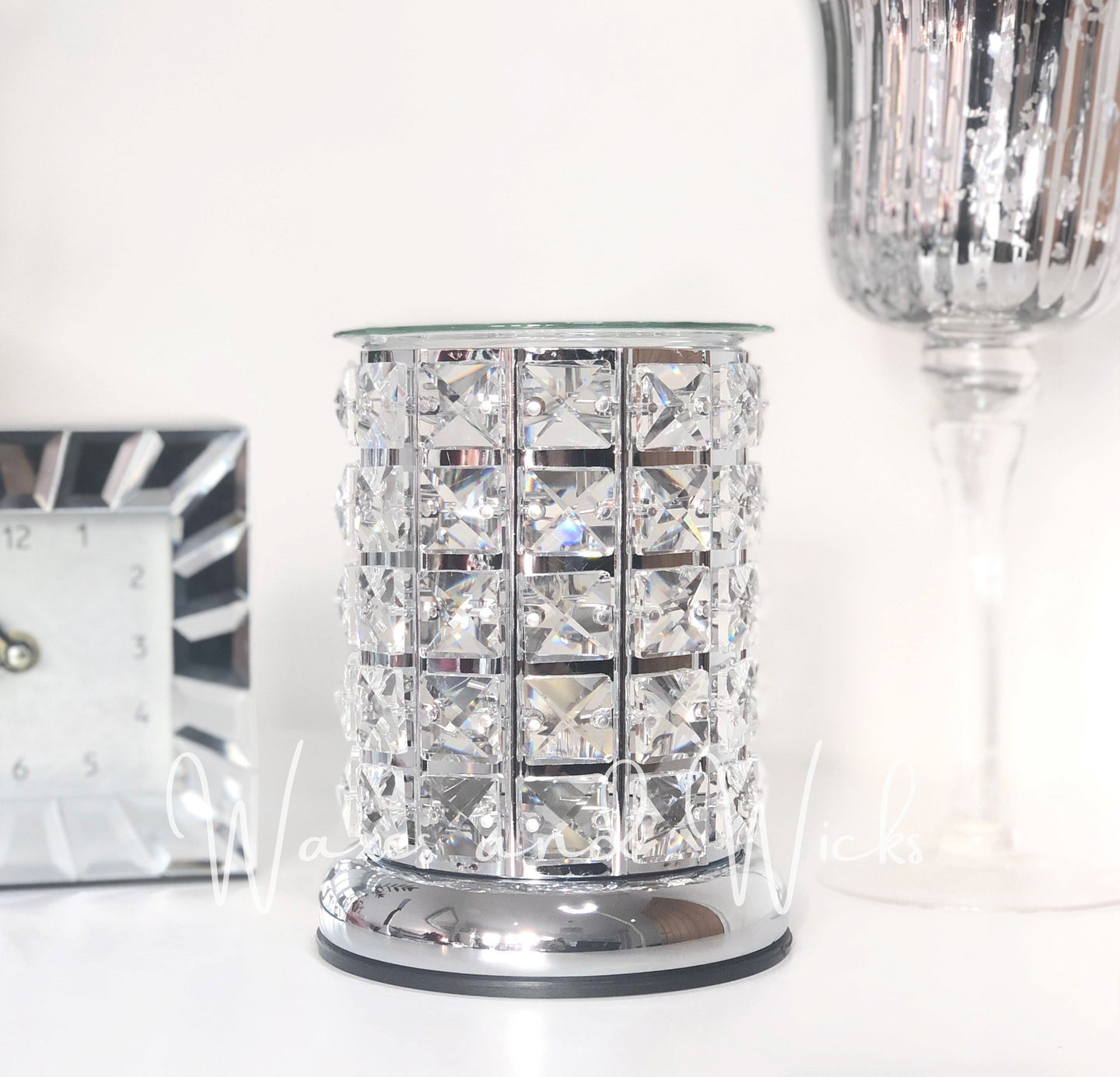 Crystal Wax Warmer Electric Lamp - Waxes and Wicks