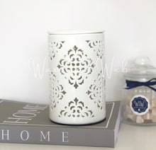 Load image into Gallery viewer, Damask Electric Wax Warmer - Waxes and Wicks
