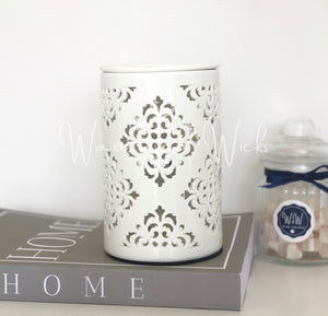 Damask Electric Wax Warmer IMPERFECT - Waxes and Wicks